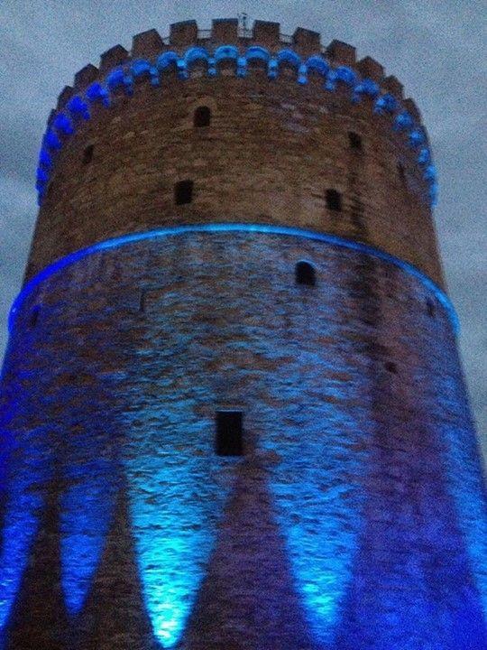White Tower of Thessaloniki, historical #Macedonia, northern Greece