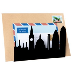 London skyline letter rack