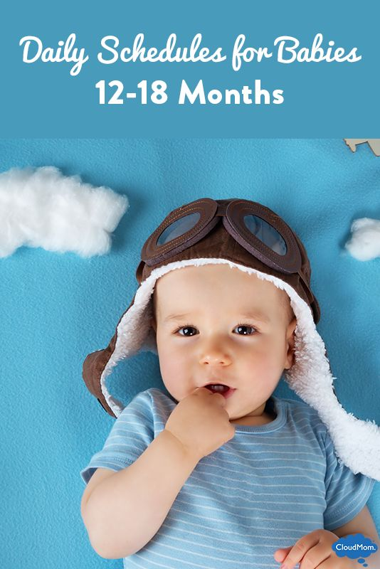 Looking for a daily schedule for your 1 year old? Daily feeding and napping guide for 12-18 month old babies. Check it out!