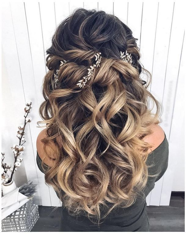 Long Wedding Hairstyles 2019 – Hairstyle – #Hairstyle #Wedding Hairstyles #Long