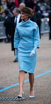 Melania Trump's 'America First' Inaugural Wardrobe - The New York Times