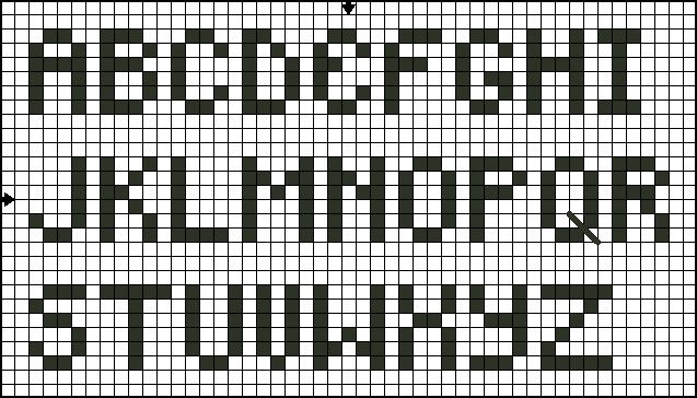 1000+ Ideas About Cross Stitch Alphabet Patterns On