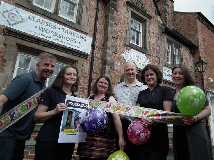 Birthday party with charity twist for Shrewsbury natural health and wellness…
