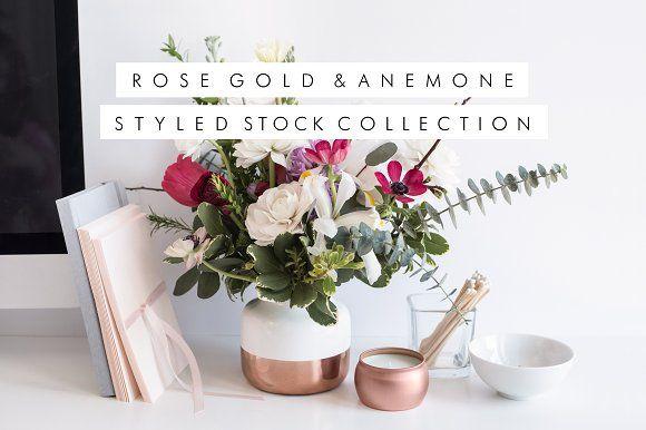 SALE Bundle, Rose Gold & Florals by Her Creative Studio on @creativemarket