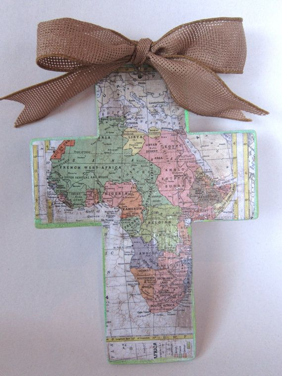 Compassion crosses - reminders to pray for children in need you sponsor in foreign countries...or adoption...or missionaries