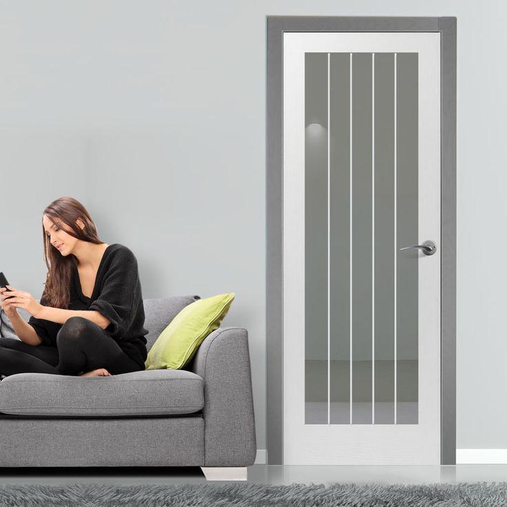 100 Best Internal White Glass Doors Images On Pinterest Safety