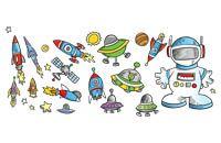 Lenagold - Клипарт - Ракеты и космические аппараты