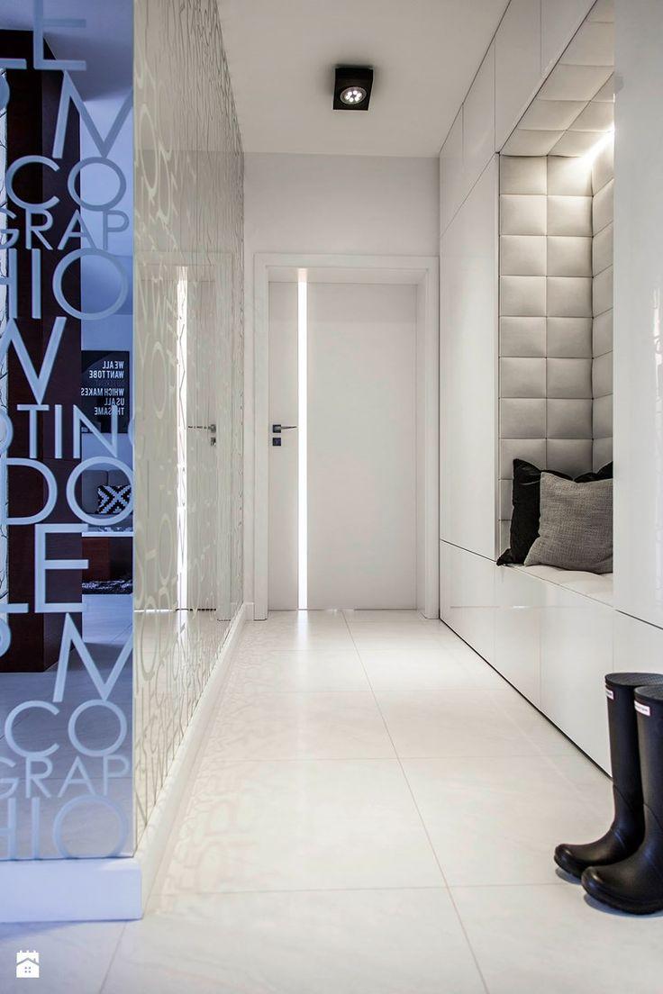 Mieszkanie w Obrze 2 - Hol / przedpokój, styl nowoczesny - zdjęcie od Żaneta Strażyńska