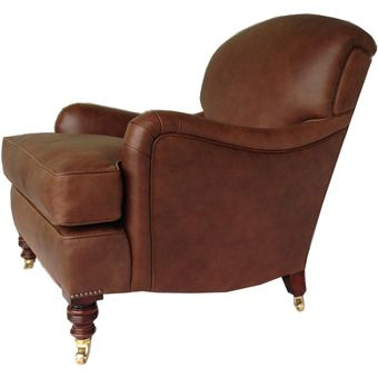 Handmade by our team - We have just completed this gorgeous leather armchair based on the original Howard & Son Easy chair - take a peek http://www.petersilk.co.uk/product.php/808/howard-sons-leather-easy-chair