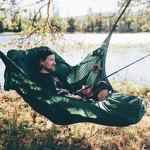 A hammock tent!