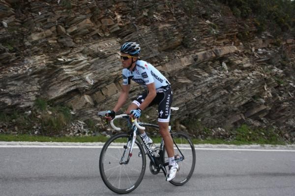 Alberto Contador. Climbing