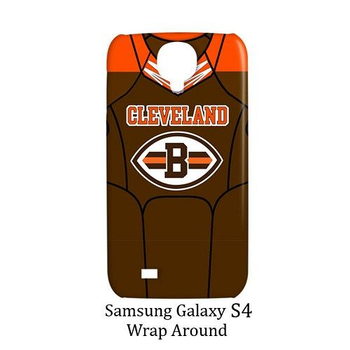 Cleveland Browns Style Jersey Case for Samsung Galaxy S4
