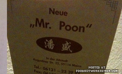 Food Network Humor » Worst Restaurant Names In The World (Part 2, 25 pics)