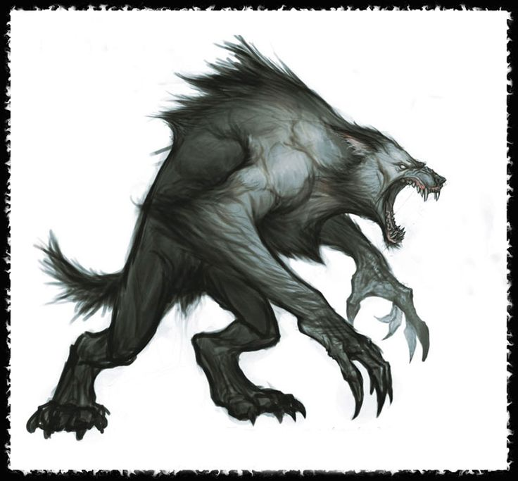 awesome+werewolf+art - Google Search
