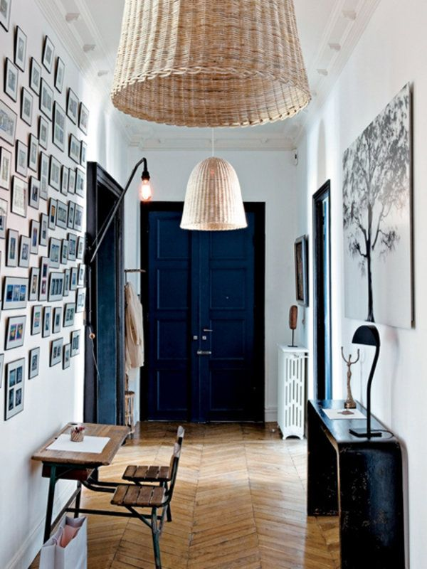 Intrigue and fascination are the words that come to mind when looking at this entrance hall. It presents you with so much but in a tasteful way, It just feels like there's so much be discovered.