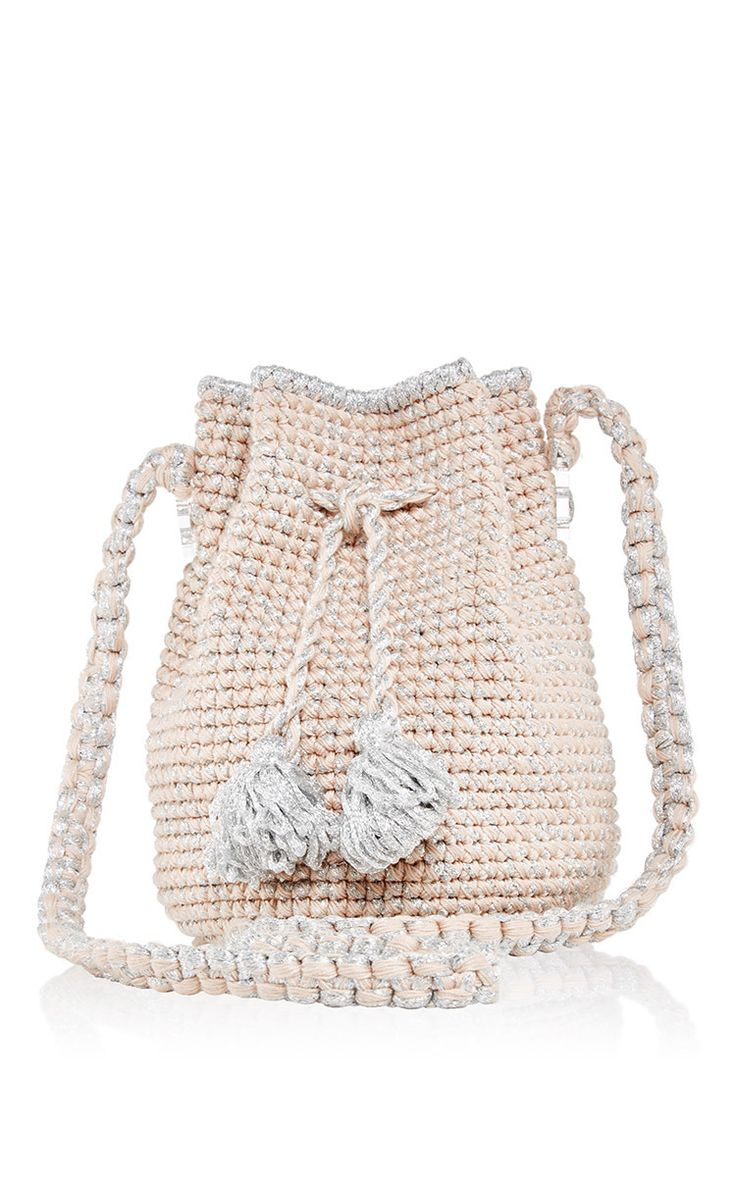 Pink Venice Bucket Back by 7II for Preorder on Moda Operandi