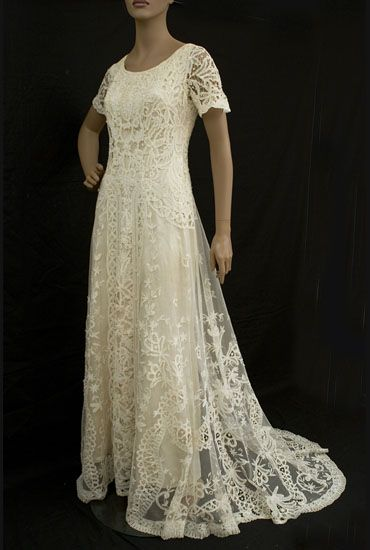 old fashioned wedding dresses | Edwardian Wedding Gowns | The Art Nouveau Bride