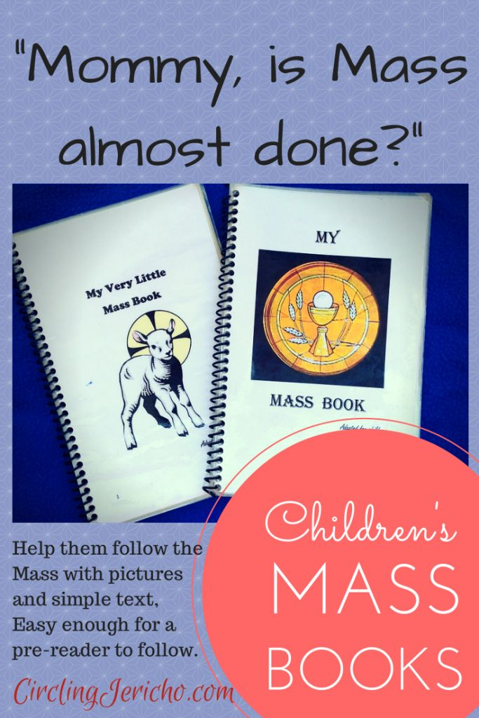 -Mommy is Mass almost done?- Mass Books For Children - Printable- (1)