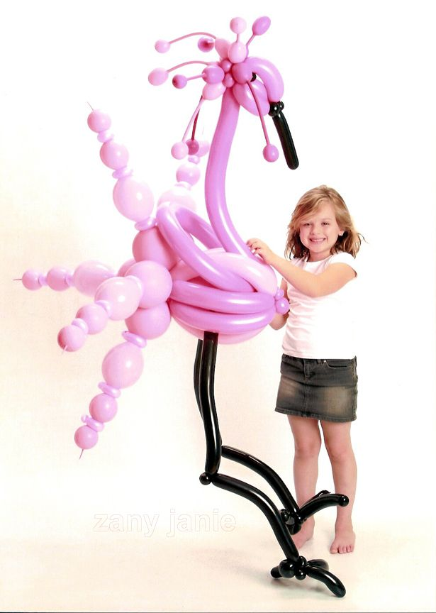 WHAT A COOL FLAMINGO!!  i know i could make one if i tried...i think...it's just neat cool though