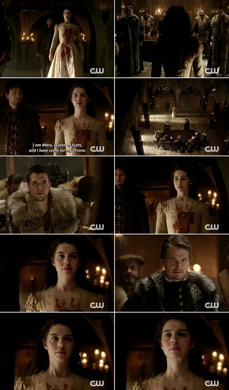""""""" I am Mary, Queen of Scots, and i have come for my throne."""""""