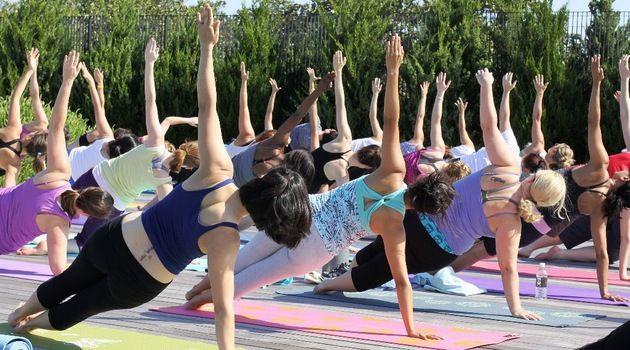 #Joga w parku wraca! Od 6 lipca zajęcia na świeżym powietrzu w Parku Słowackiego #yoga #Wroclaw