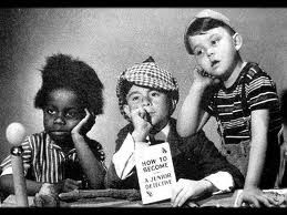 Our Gang - Buckwheat, Alfalfa, Porky  Spook house! One of my favorites!