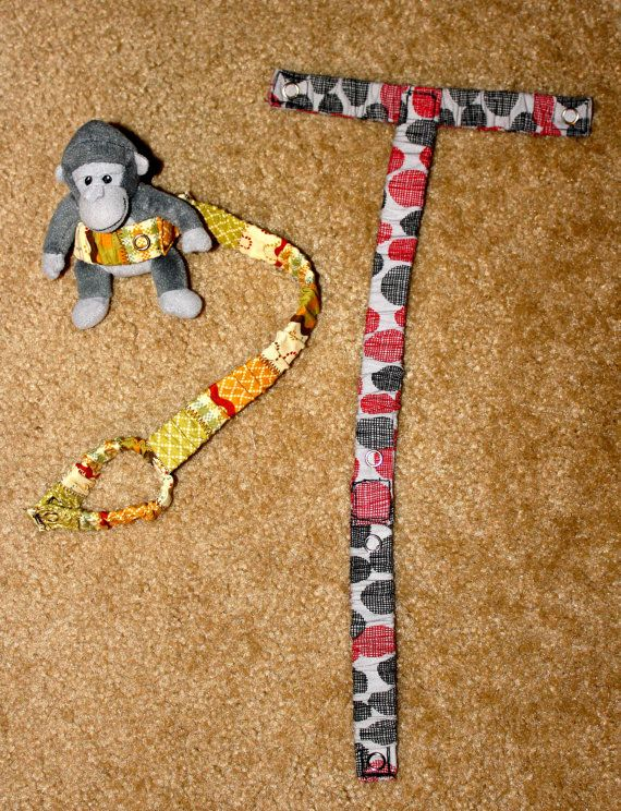 how to make a sophie the giraffe leash