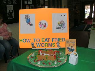 64 best how to eat fried worms images on pinterest teaching the edible book festival contains exhibits for several novels check out the how to eat ccuart Choice Image