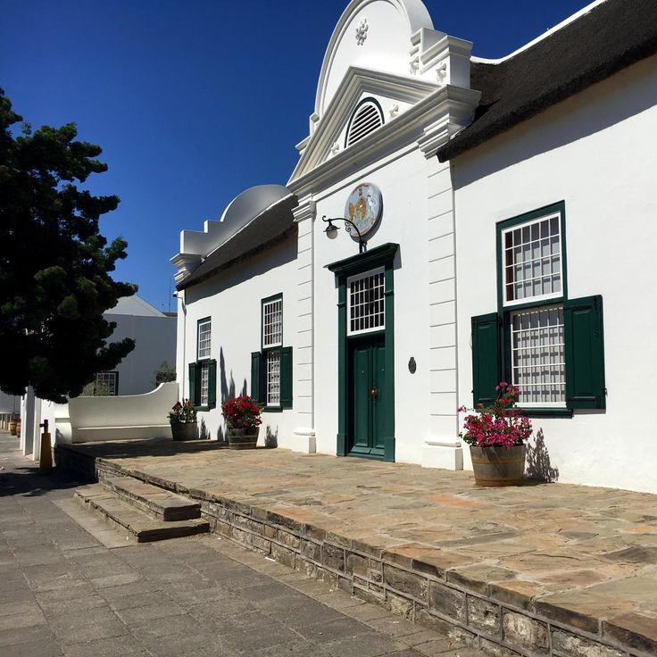 """Houses of Graaff-Reinet, Part 2. The Drostdy Hotel. """"Drostdy"""" is an Afrikaans-from-Dutch word meaning a seat of government.  The hotel recently underwent a 2yr long refurbishment and has reopened as a five star boutique hotel.  Photo by VTC www.victoriatanchilds.com"""