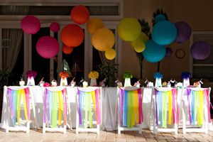 Mod Monogram Special Mention Party Idea!