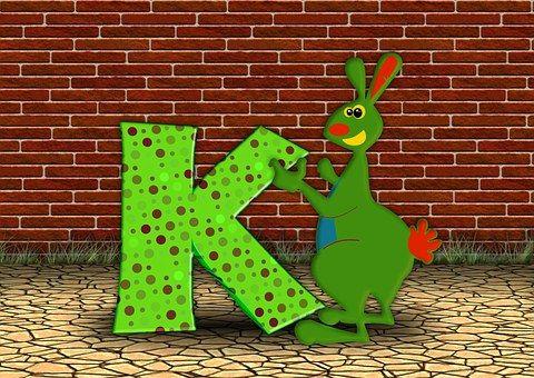 Letters, Abc, Education, Kangaroo