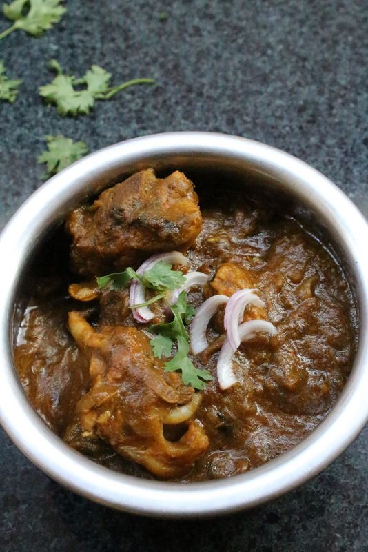 Gongura Chicken Recipe is an amazing combination of gongura leaves or sorrel leaves with chicken and is a special andhra style recipe which is made commonly in the andhra region of south india. #yummyindiankitchen