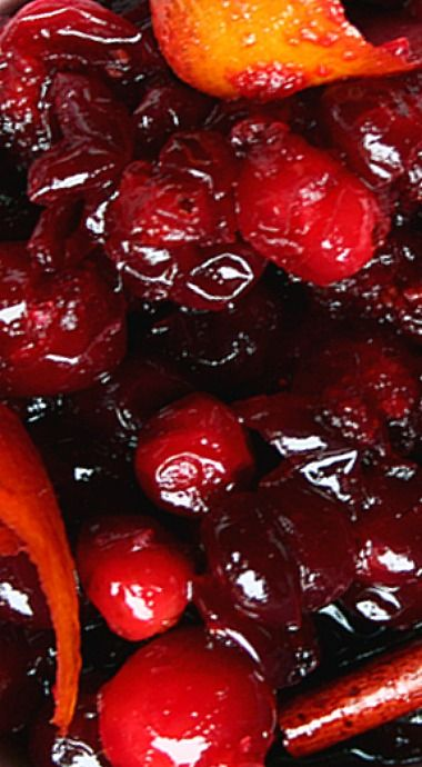 Red Wine Cranberry Sauce ❊