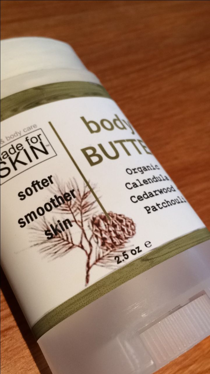 The best VEGAN BODY BUTTER ever! Softer skin, convenient lotion and great scent. All natural skincare @madeforskin.com