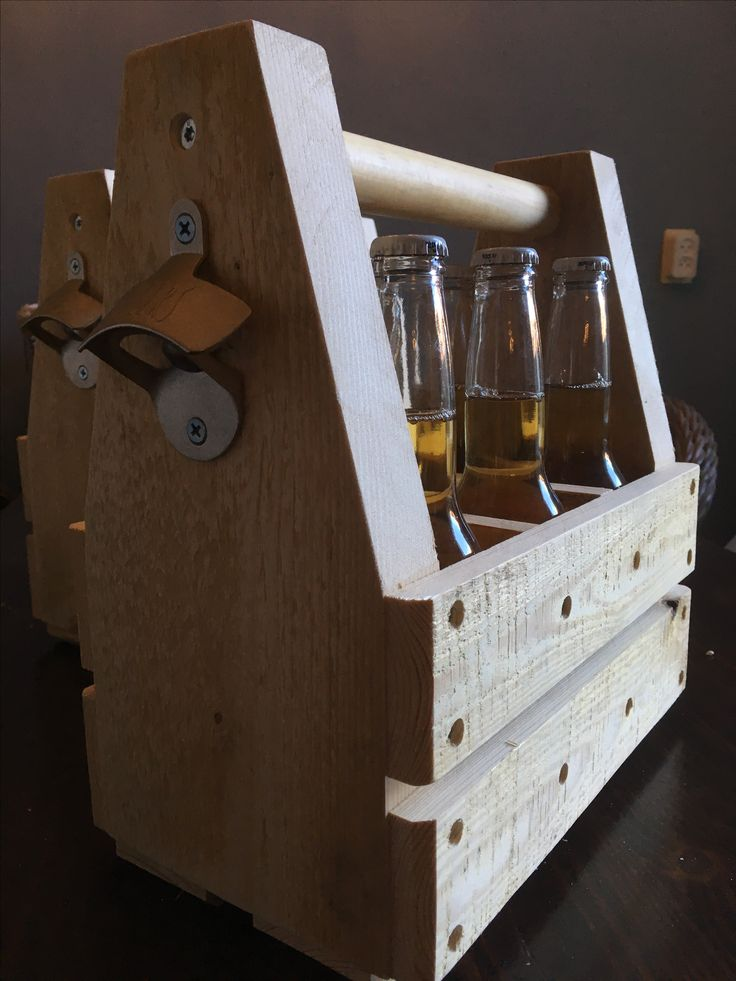 Sixpack! Made from pallets
