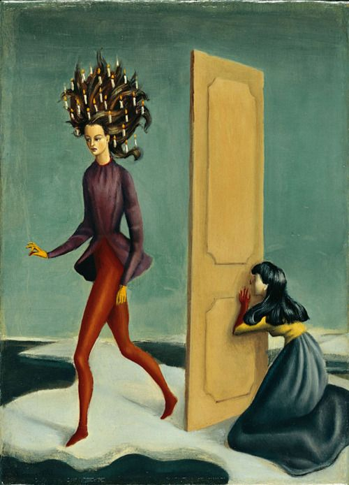 Leonor Fini, Zwei Frauen (Two Women), 1939