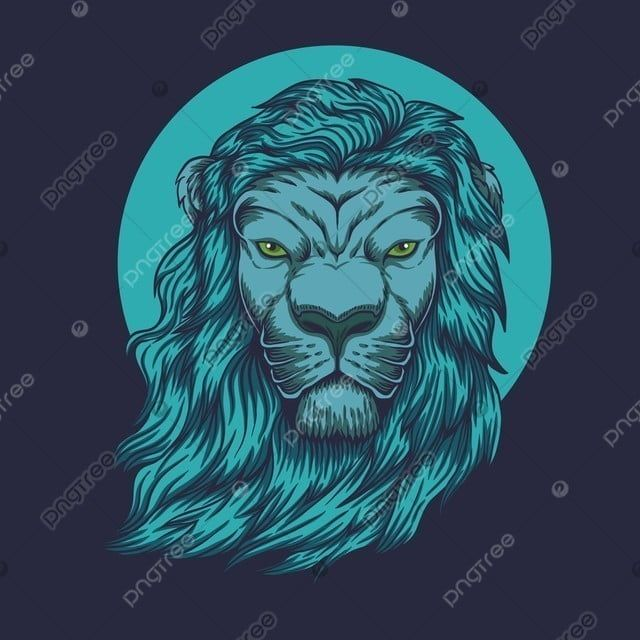 Lion Head Vector Illustration Lion King Clipart Africa Animal Png And Vector With Transparent Background For Free Download Vector Illustration Lion Head Tattoos Illustration