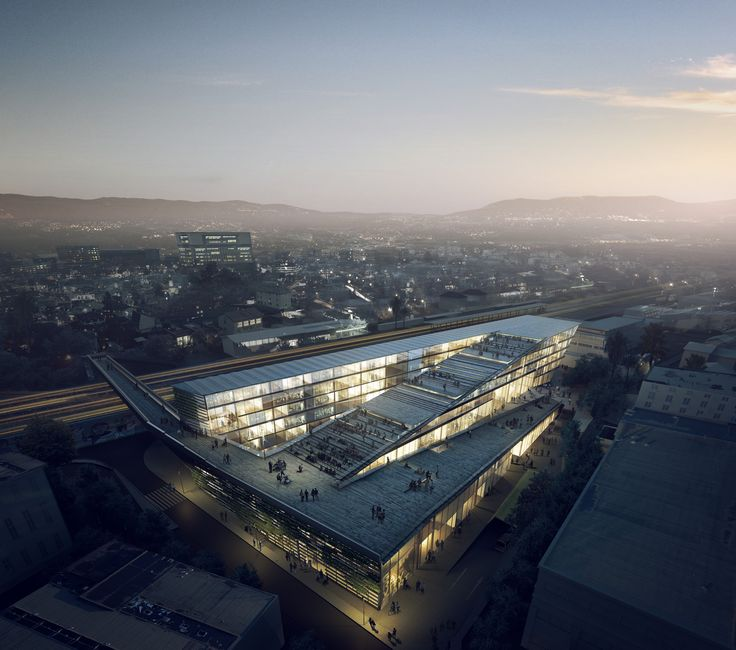 Image 1 of 44 from gallery of SUPSI Campus Project / Kengo Kuma. Photograph by Kengo Kuma and Associates