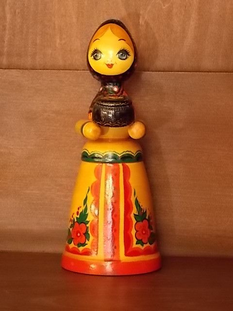 Russian Wooden Girl