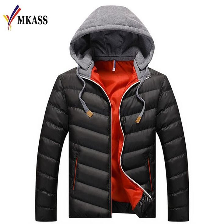 Hot Sale Brand Winter Jacket Men Casual Parka Jacket Thick Men Hooded Warm Men's Coats and Jackets Fashion Overcoats Hommer #Affiliate