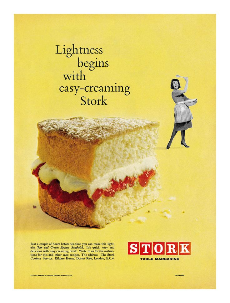 Stork Margarine, 1961.