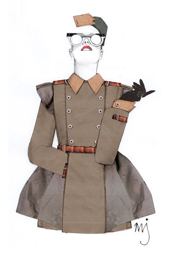 Burberry Design Project - Milly Jackson - Fashion Illustration