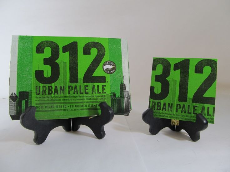 312 Urban Pale Ale Beer Coaster Check out this product and may others at http://mancaveupcycle.com/shop/coasters/312-urban-pale-ale-beer-coaster/