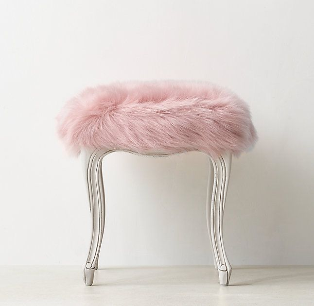 Rose Pink Office Chair