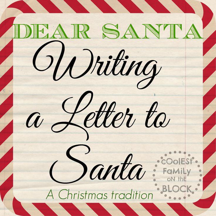 70 Best Letters To Santa .•*¨* Dear Santa... Images On