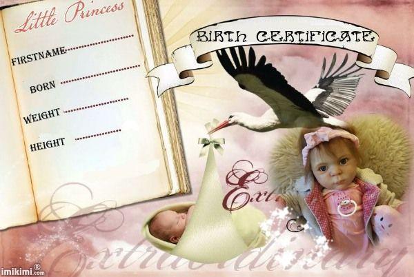 birth certificate angelica