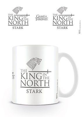 Game of #thrones stark king in the #north mug new #boxed 100 % official merchandi,  View more on the LINK: http://www.zeppy.io/product/gb/2/252287326811/