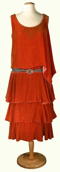 1920's Flapper Dress - Worn by First Lady Grace Coolidge