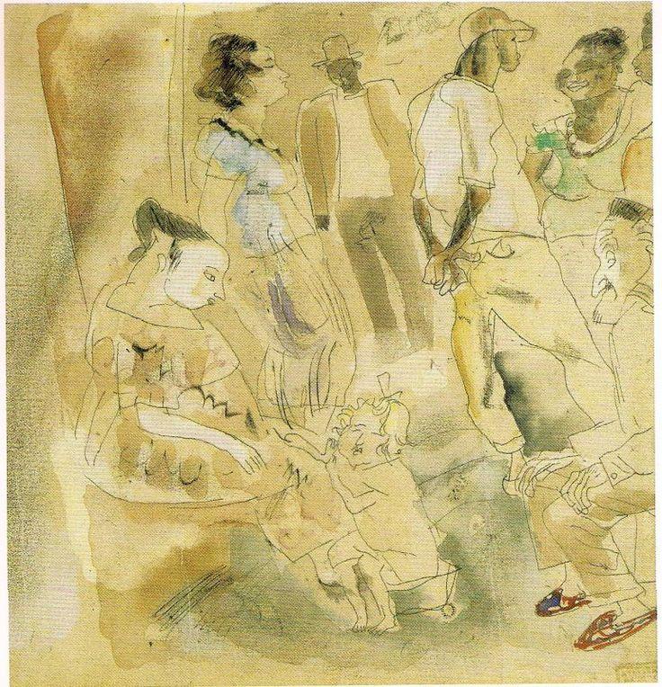 Жюль Паскин. «Сцена в Гаване», 1917 г.