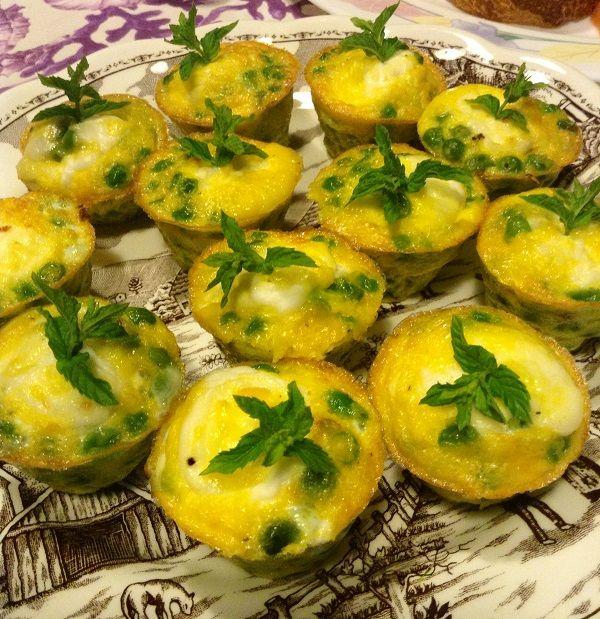Ricetta antipasto veloce freddo vegetariano: frittata ...